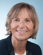 Photo de madame la députée Marielle de Sarnez