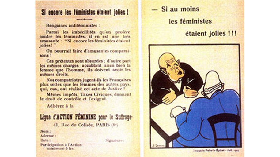 Extrem Contre le vote des femmes : florilège - Histoire - Le suffrage  RK36