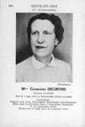 Degrond Germaine