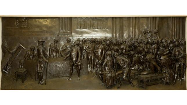 Bronze de Dalou