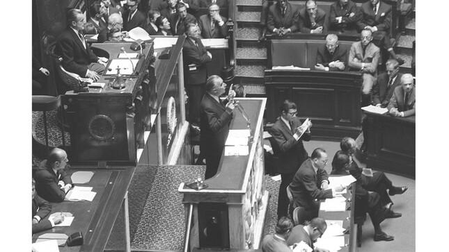 Mai 1968 - Pompidou - Chaban