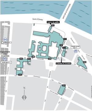 Plan d'accès - Contacts et plan d'accès - Assemblée nationale
