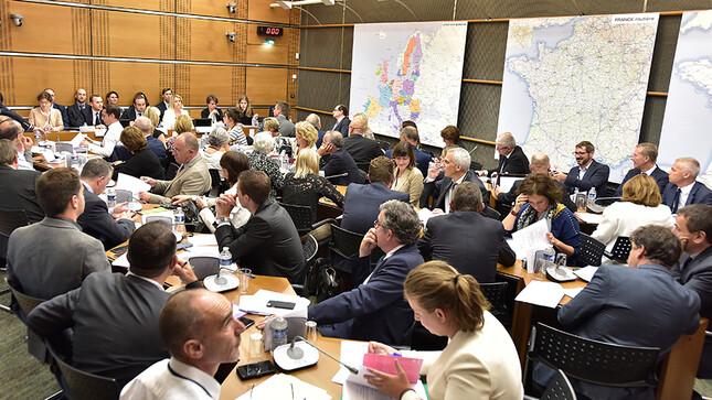 Réunion de la commission du développement durable