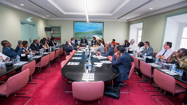 Réunion de la délégation aux outre-mer