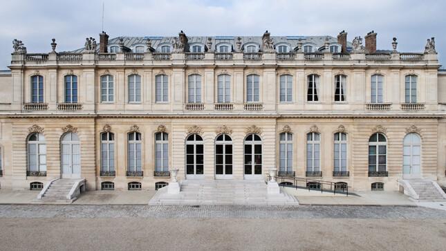 Façade de l'Hôtel de Lassay